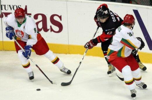 Литовская сборная по хоккею на ЧМ заняла 4 место