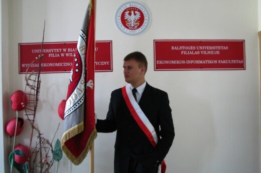 Absolwenci wileńskiej filii UwB odebrali dyplomy, fot. Ryszard Rotkiewicz