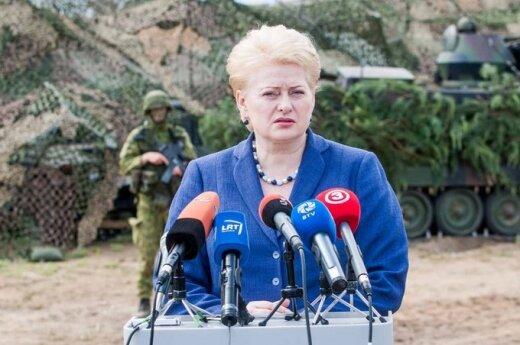 Grybauskaitė twierdzi, że naprawiła litewski system wyborczy