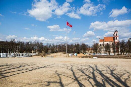 Seimas prašo Vyriausybę paremti iniciatyvą Lukiškių aikštėje pastatyti Vyčio skulptūrą