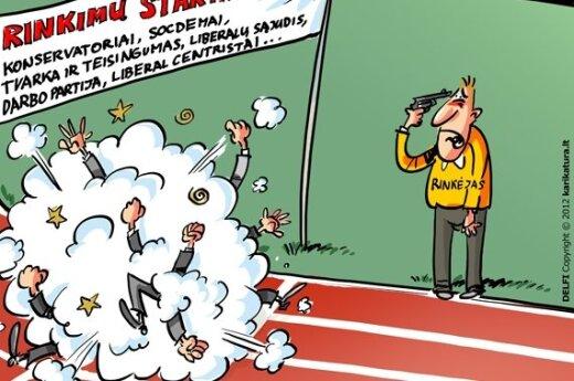 """Apklausa: rinkimuose pirmautų socialdemokratai, """"Drąsos kelio"""" rėmėjai nyksta"""