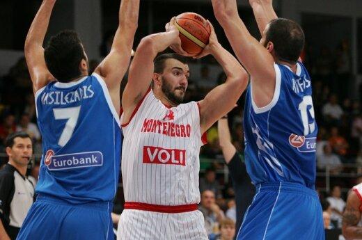 Juodkalnijos ir Graikijos rungtynės