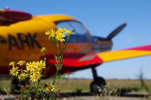 Kaip pasidžiaugti rudeniu: popietė tarp lėktuvų
