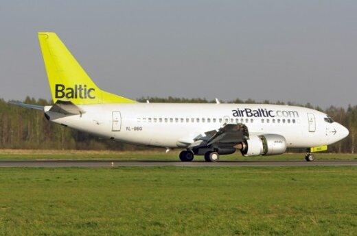 В июнe прирост пассажиров компании airBaltic составил 32%