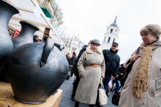 На ярмарке Казюкаса в Вильнюсе - не протолкнуться