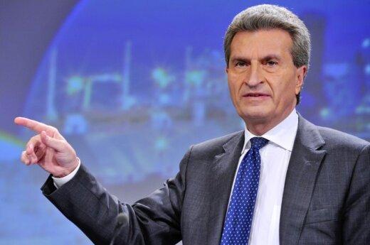 Oettinger: Integracja krajów bałtyckich w europejski rynek energetyczny jest naszym priorytetem