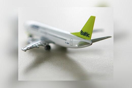 """airBaltic"" lėktuvo modelis"
