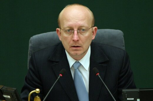 Sąd Konstytucyjny orzekł, że Valinskas został prawnie wybrany na przewodniczącego Sejmu
