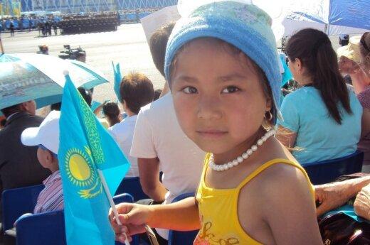 Kazachė mergaitė