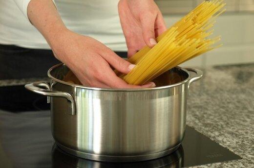 Kulinarinis nusikaltimas: klaida, kurią darote virdami makaronus