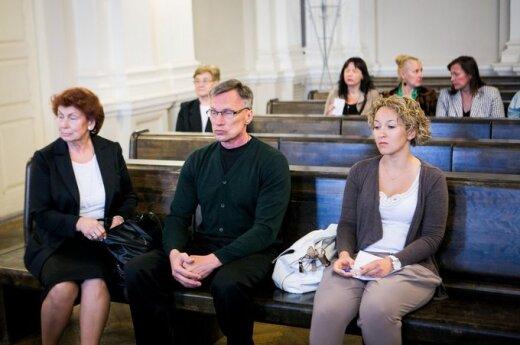 Raimundas Ivanauskas ir Eglė Barauskaitė (dešinėje)