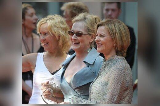 ABBA susitiko filmo premjeroje