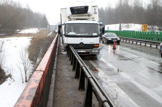 Дорожники предупреждают: на мостах и виадуках скользко