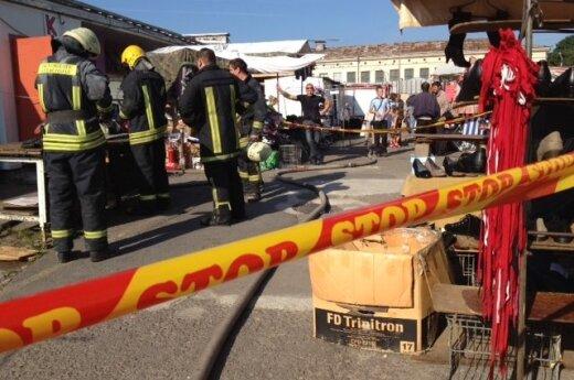 Na rynku Kalwaryjskim paliła się kawiarnia