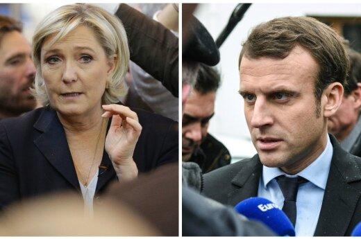 Marine Le Pen, Emmanuelis Macronas