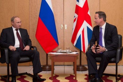 """David Cameron spotkał się z Putinem. """"Sytuacja jest nie do zaakceptowania"""""""