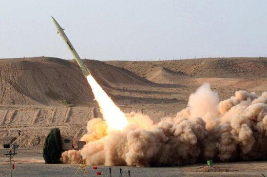 Иран впервые испытал ракеты в Индийском океане