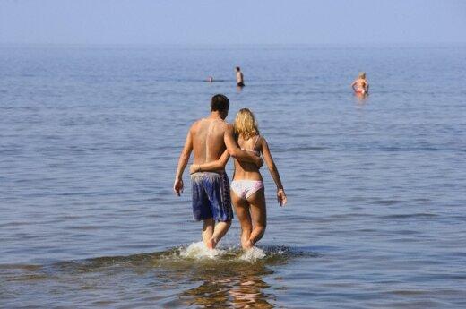 На следующей неделе ждет традиционное литовское лето