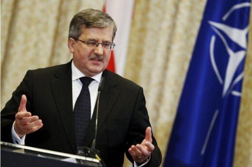 Komorowski: Polscy lotnicy nadal będą chronili kraje bałtyckie
