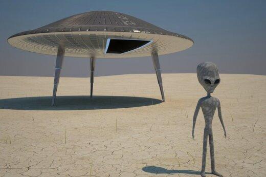 Rosja: Miedwiediew ma pełną informację o przybyszach z kosmosu