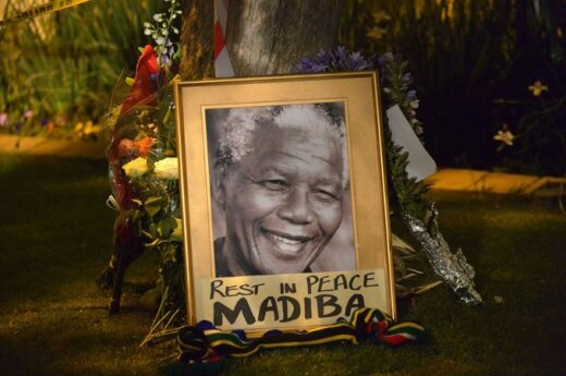 Pietų Afrika gedi N. Mandelos