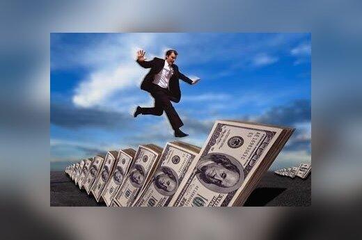 Verslininkas, pinigai, bankrotas, verslas
