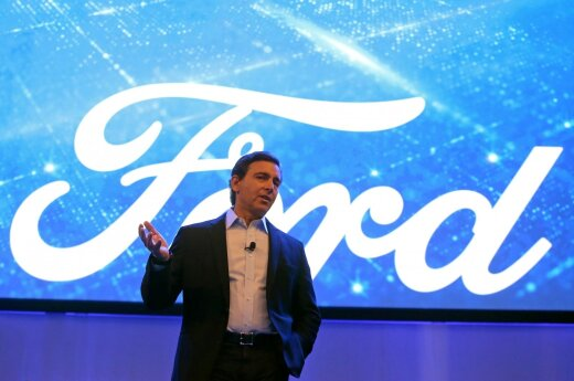"""Ford"" vadovas Markas Fieldsas"