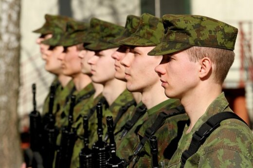 4 in 5 conscripts will serve in Land Forces, Lithuanian army says