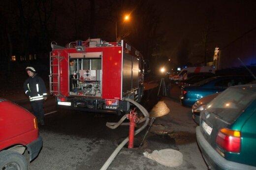 В Вильнюсе в пожаре погиб человек