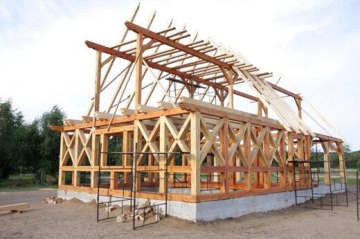 Норвежцы производят дома в Литве и везут их в Норвегию