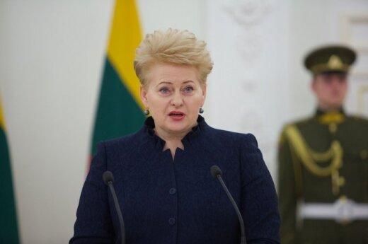 Даля Грибаускайте: предав Украину, мы предадим самих себя