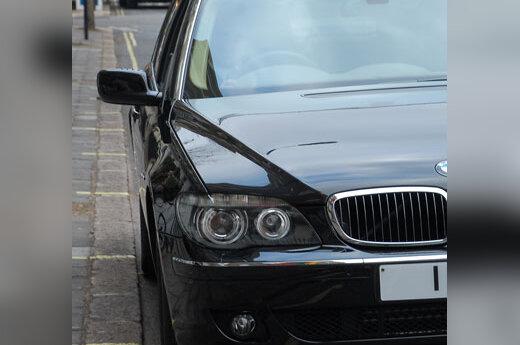 BMW, limuzinas, diplomatija, automobilis