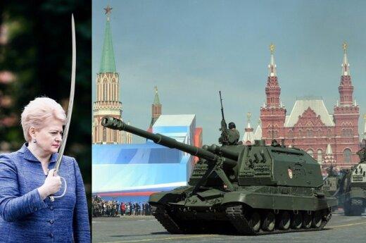 Dalia Grybauskaitė, DELFI montažas