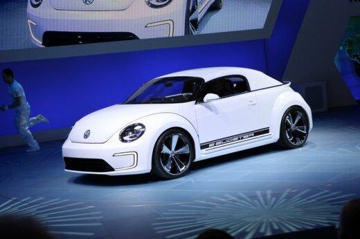 Детройт-2012: новый жук Volkswagen стал электрическим
