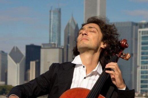Концерт Яна Максина в Вильнюсе: виолончель без границ