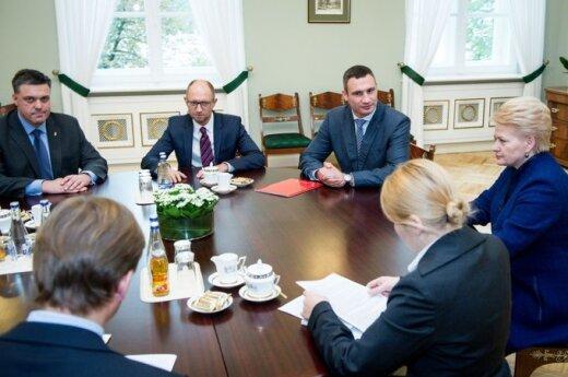 Украинская оппозиция в Вильнюсе: давление России вынуждает предпочесть интеграцию в ЕС
