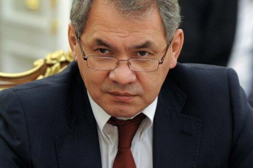 Министр обороны РФ Шойгу пригласил Литву на конференцию по обороне в Москву
