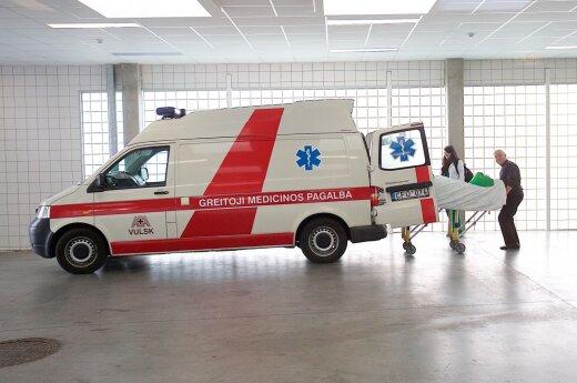 В Каунасе пьяная женщина совершила ДТП, пострадали двое малолетних детей
