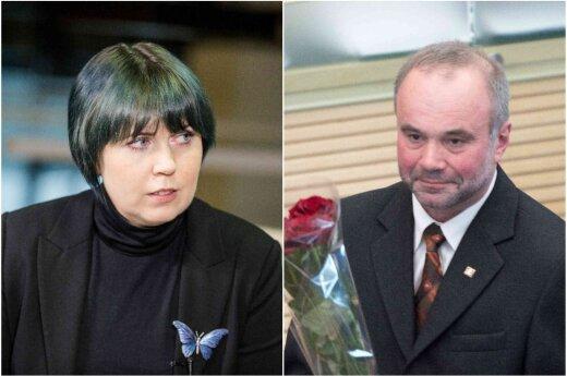 Dovilė Šakalienė ir Kazys Grybauskas