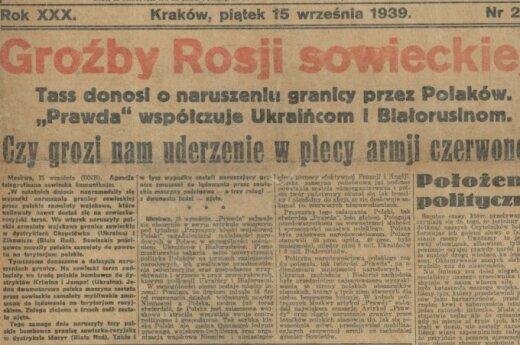 """15 września 1939 roku """"Ilustrowany Kuryer Codzienny"""". Foto: polona.pl"""