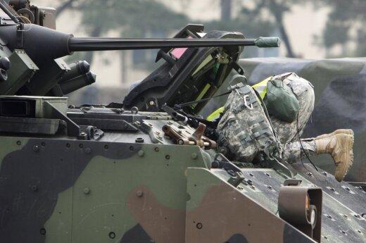 Stars and Stripes magazine: Heavy military equipment has limitations in Baltic terrain