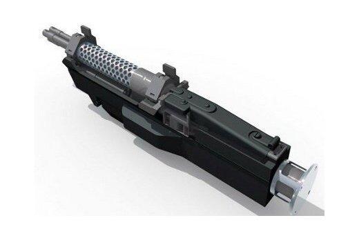 Немцы создали трехствольный пулемет с электромотором