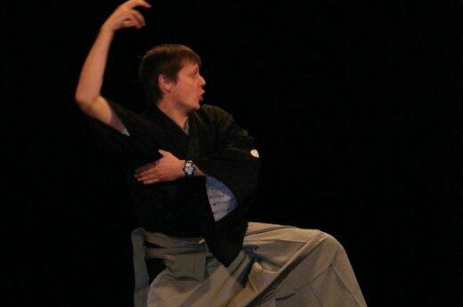 """Mažasis kiogen teatras - spektaklis """"Kaki - jamabuši"""" ( Vienuolis ir persimonai )"""
