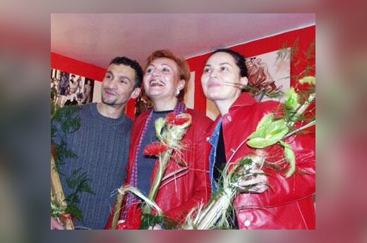 Seržas Gandžumianas, Lijana Karpavičienė ir Sandra Straukaitė
