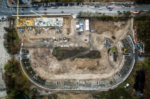 """На территории бывшего стадиона """"Жальгирис"""" построят гостиницу Marriott"""