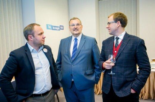 Viktoras Fiodorovas, Kęstutis Daukšys ir Vytautas Gapšys