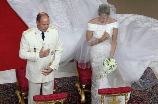 Monako kunigaikščio Alberto II ir kunigaikštienės Charlene vestuvių religinė ceremonija