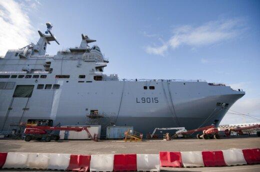 Конгресс: продажа России кораблей Mistral угрожает интересам США