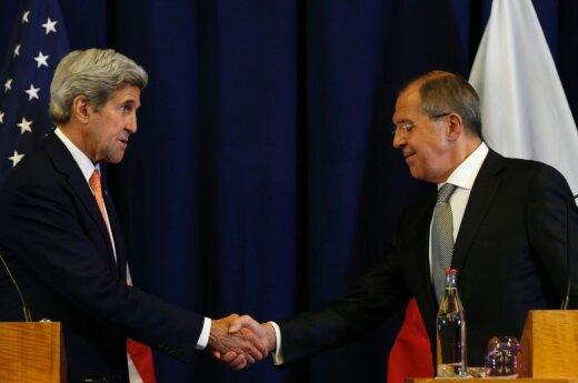 Лавров и Керри обсудили шаги по нормализации ситуации в Алеппо