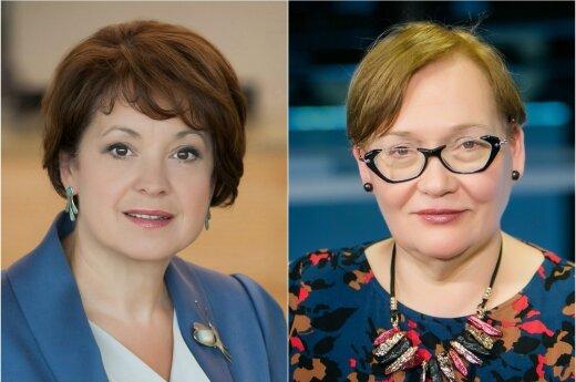 Vilija Aleknaitė-Abramikienė ir Aušra Maldeikienė